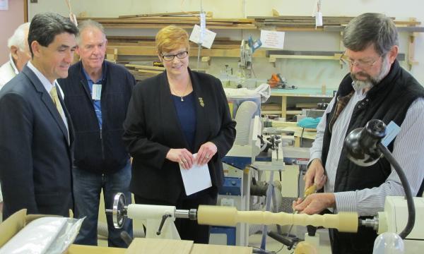 Senator Payne visits PDMS