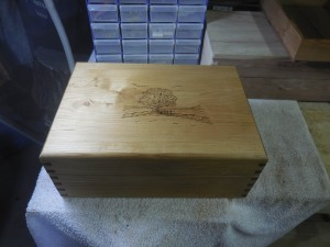 Susannah's Jewlery Box Completed