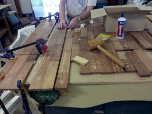 Creating table top