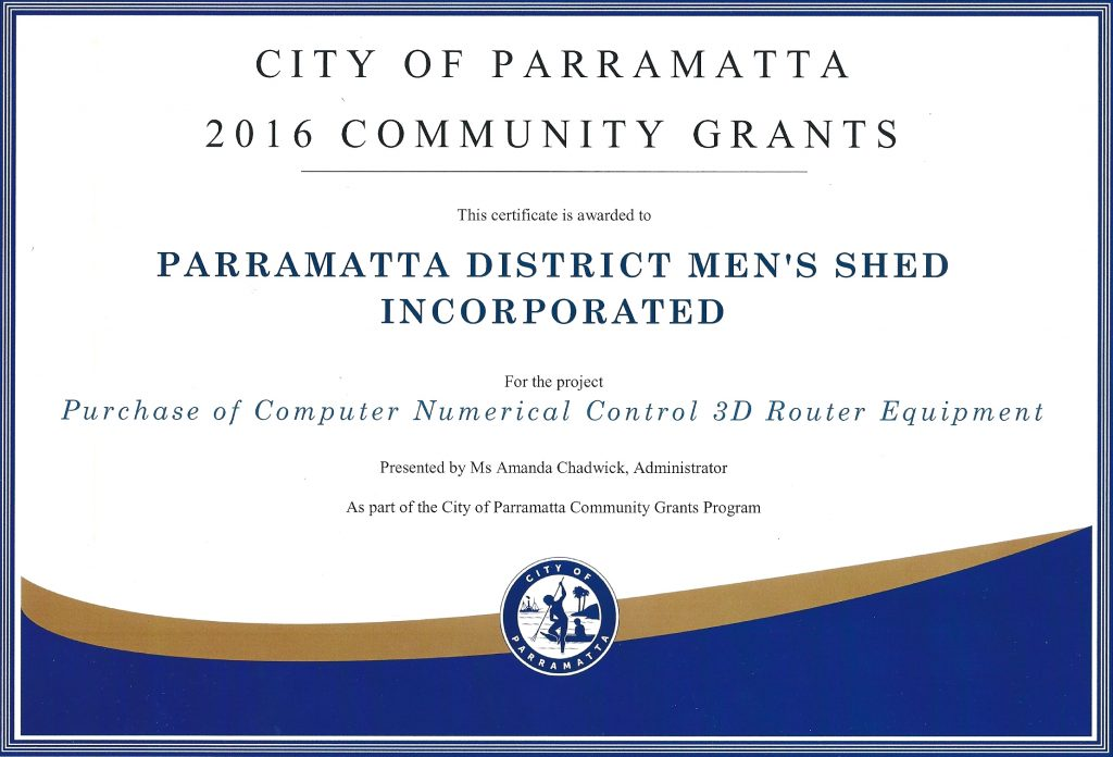 Community Grants Program 2016
