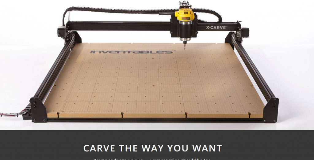 X-Carve Website Picture