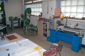 Metal Work room